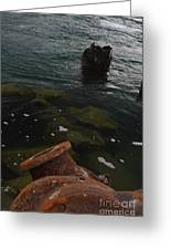 In Our Rusty Submarine Greeting Card