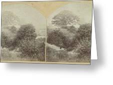 In Prestbury Park Near Cheltenham Uk, Baynham Jones Greeting Card