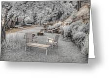 In Quiet Places Greeting Card