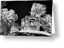In Ruins Greeting Card