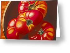 In Search Of The Perfect Tomato Greeting Card