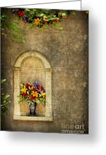 In The Alcove Greeting Card