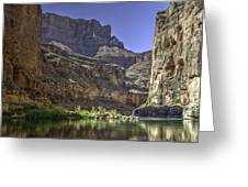 In The Canyon Greeting Card