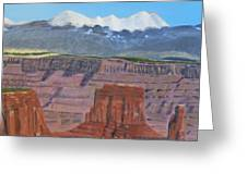 In The Canyonlands Utah Greeting Card