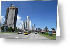 In The City Greeting Card