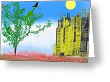 In The Country Spring Greeting Card