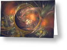 In The Crystal Ball Greeting Card