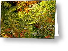 In The Flow 1 Greeting Card
