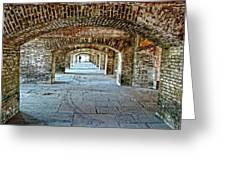 In The Fort Arches Greeting Card