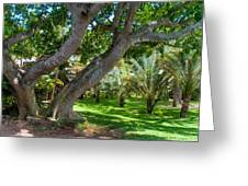 In The Garden. Mauritius Greeting Card
