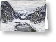 In The Heart Of The Winter Greeting Card