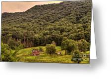 In The Hills Of Virginia Greeting Card