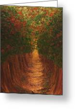 In The Lane Greeting Card
