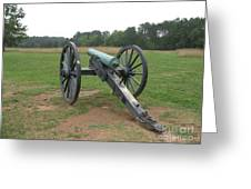 In The Line Of Fire - Manassas Battlefield Greeting Card