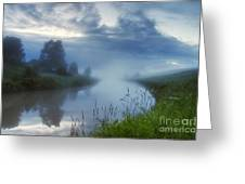 In The Morning At 02.57 Greeting Card