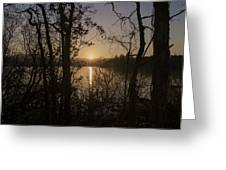 In The Morning At Lough Eske Greeting Card