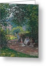 In The Park Monceau Greeting Card