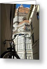 In The Shadow Of Il Duomo Greeting Card