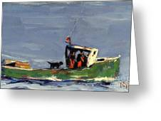 In Tow Greeting Card