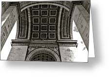 In Triomphe Greeting Card