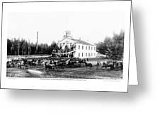 Inauguration Of Washington States First Governor 1889 Greeting Card