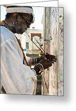 Incense For Marie Laveau Greeting Card by Kathleen K Parker