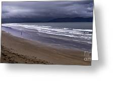 Inch Beach Co Kerry Ireland Greeting Card by Dick Wood