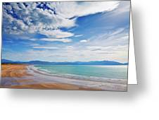 Inch Beach, Dingle Peninsula, County Greeting Card