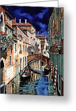 Inchiostro Su Venezia Greeting Card