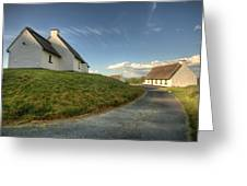 Inchiquin Cottages Greeting Card
