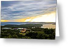 Incoming Storm Over Losinj Island Greeting Card