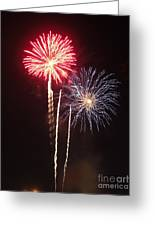 Independence Day Sparklers Greeting Card