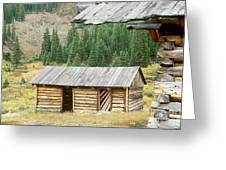 Independence Ghost Town Greeting Card