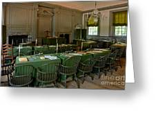 Independence Hall In Philadelphia Greeting Card