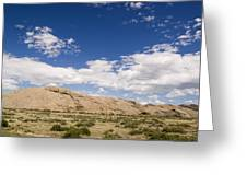 Independence Rock Wy Greeting Card