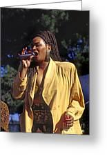Indeya Sings Greeting Card