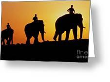 India 3 Greeting Card