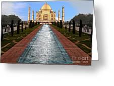 India 5 Greeting Card