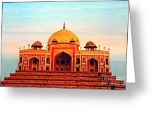 India 7 Greeting Card