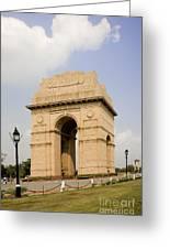 India Gate, New Delhi, India Greeting Card