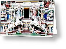 India Religion Greeting Card