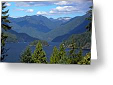 Indian Arm Greeting Card