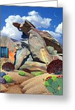 Indian Canyon Rocks Greeting Card