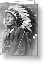 Indian Chief - 1902 Greeting Card