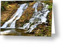Indian Creek Falls Greeting Card