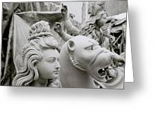 Beautiful Durga Greeting Card