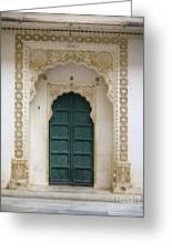 Indian Doorway Greeting Card