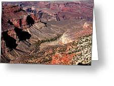 Indian Gardens In The Grand Canyon Greeting Card