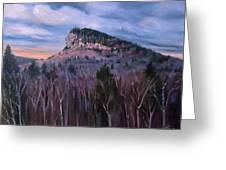 Indian Head In Lincoln New Hampshire Greeting Card
