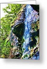 Indian Ladder Falls 2 Greeting Card